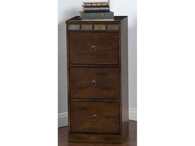 Sunny Designs Santa Fe 3 Drawers File Cabinet 2863DC-F3