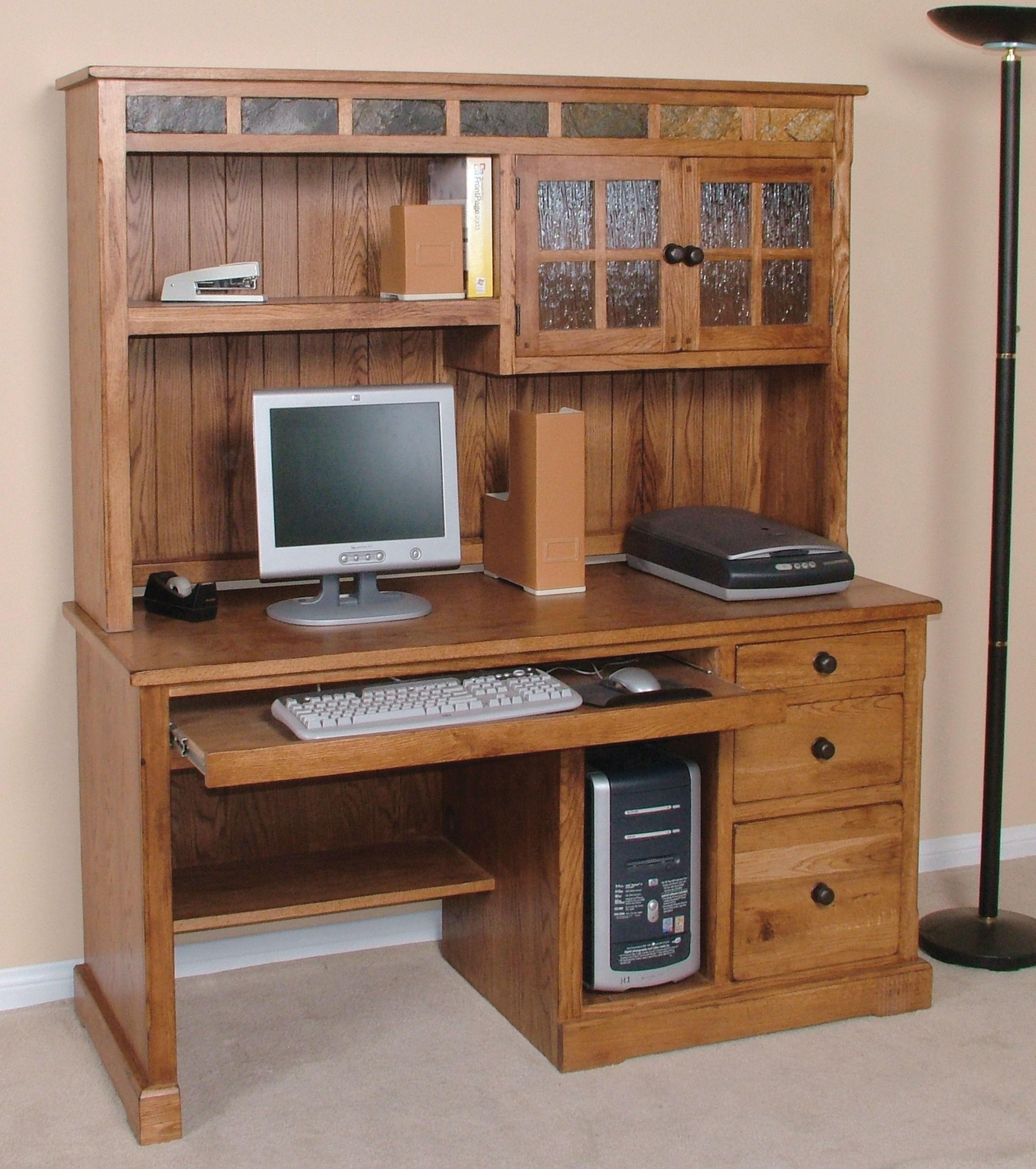 Sunny Designs Home Office Sedona Desk Hutch 2863ro