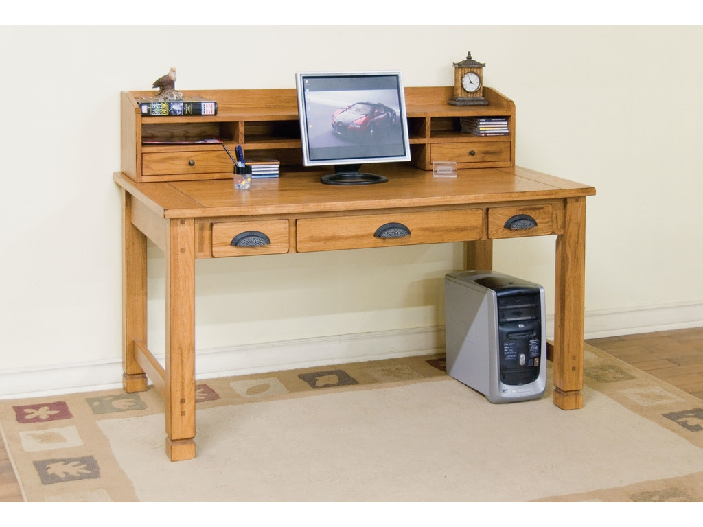 Sunny Designs Home Office Sedona Laptop Writing Desk 2865ro Hatch Furniture Yankton South