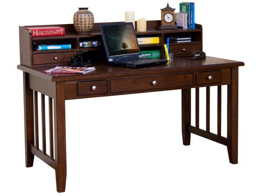 Sunny Designs Home Office Cappuccino Laptop Writing Desk 2871ca Hatch Furniture Yankton