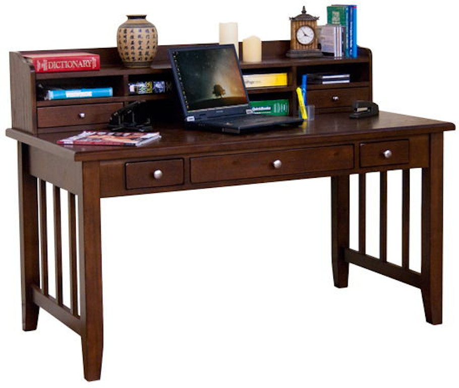 Sunny Designs Home Office Cappuccino Laptop Writing Desk 2871ca Evans Furniture Galleries
