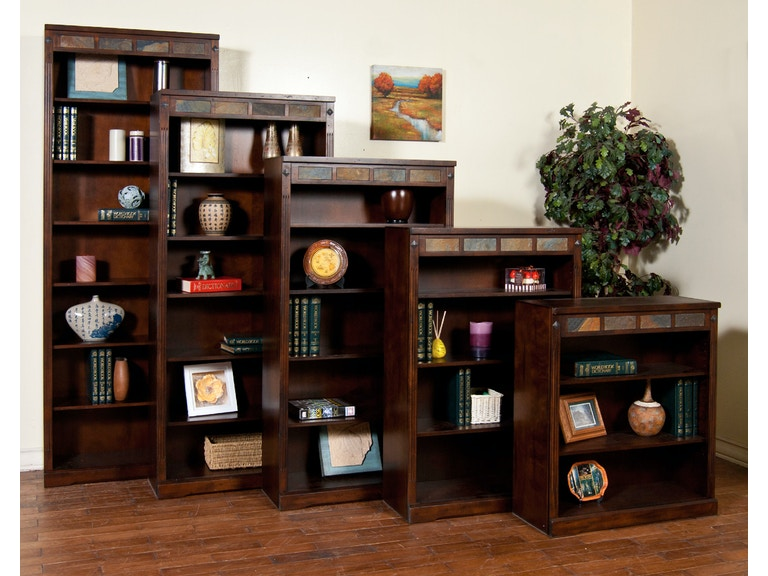 huchboco collection bookcase cherry bookcases high huntington