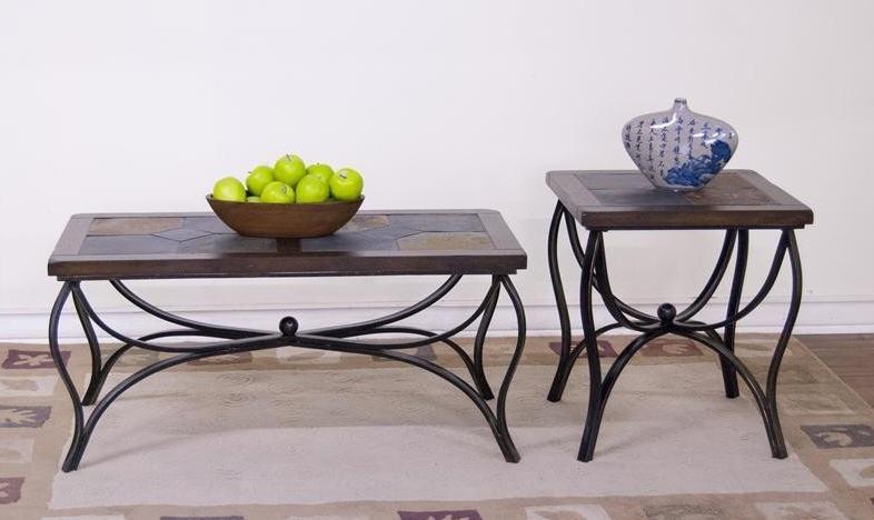 Sunny Designs Santa Fe Metal Coffee Table 3125DC C