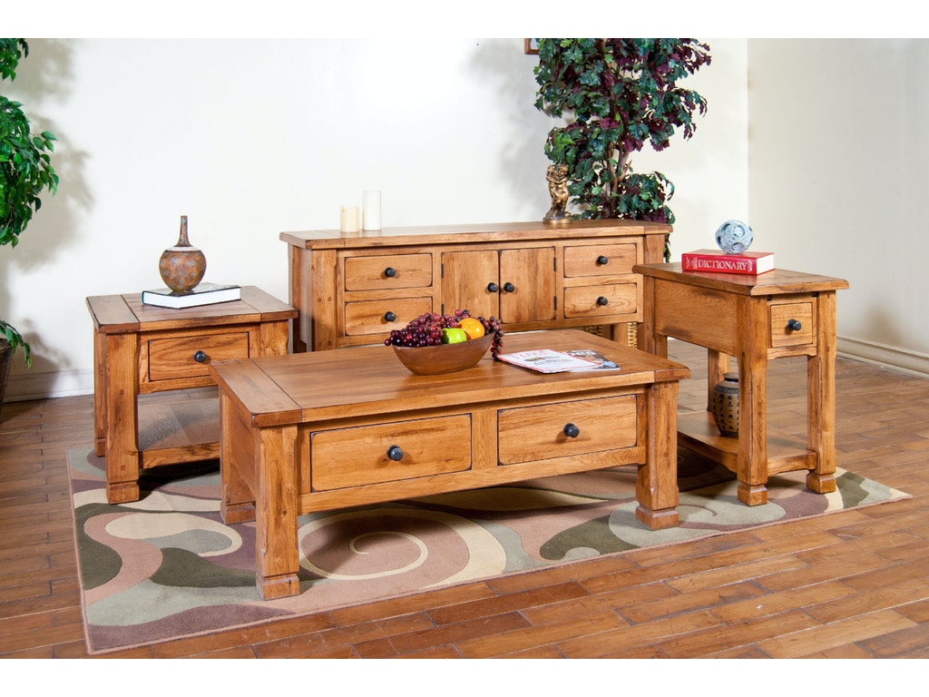 Sunny Designs Living Room Sedona Occassional Tables 3133ro