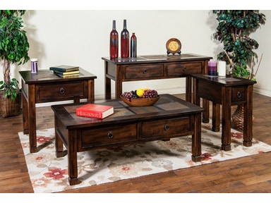Santa Fe Slate Coffee Table 041718