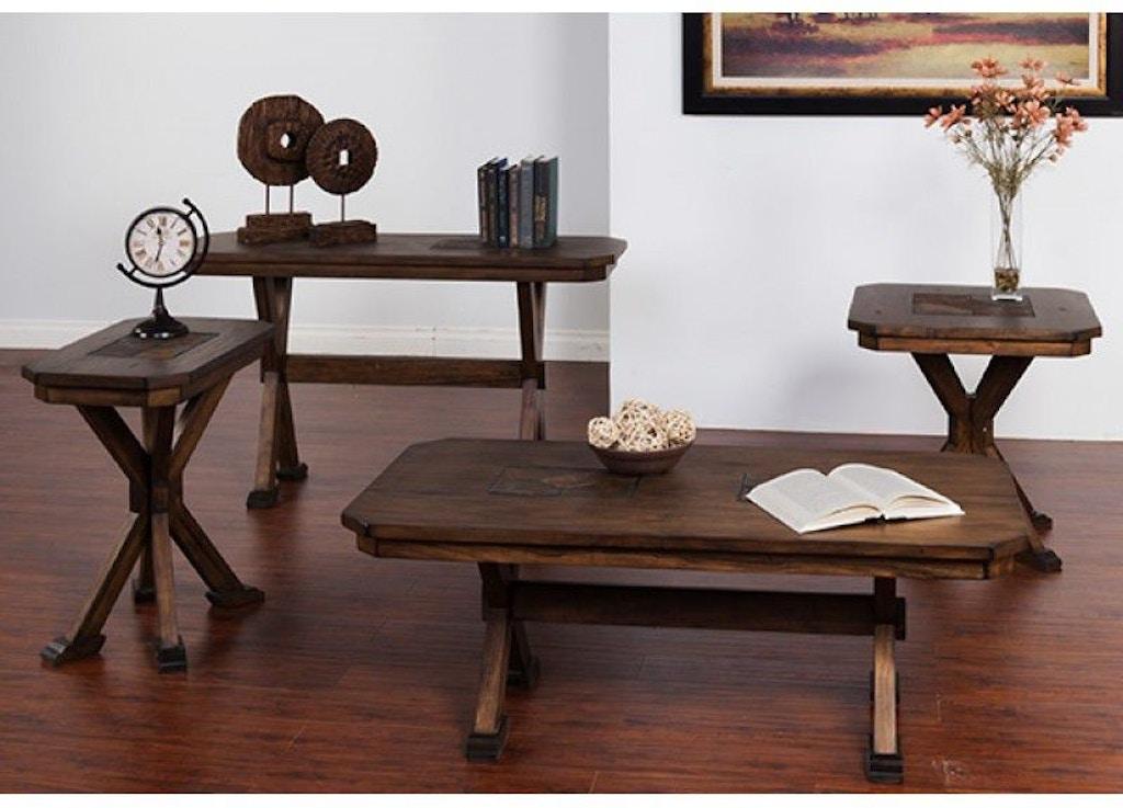 Sunny Designs Savannah Chair Side Table 3237AC-CS - Portland ...