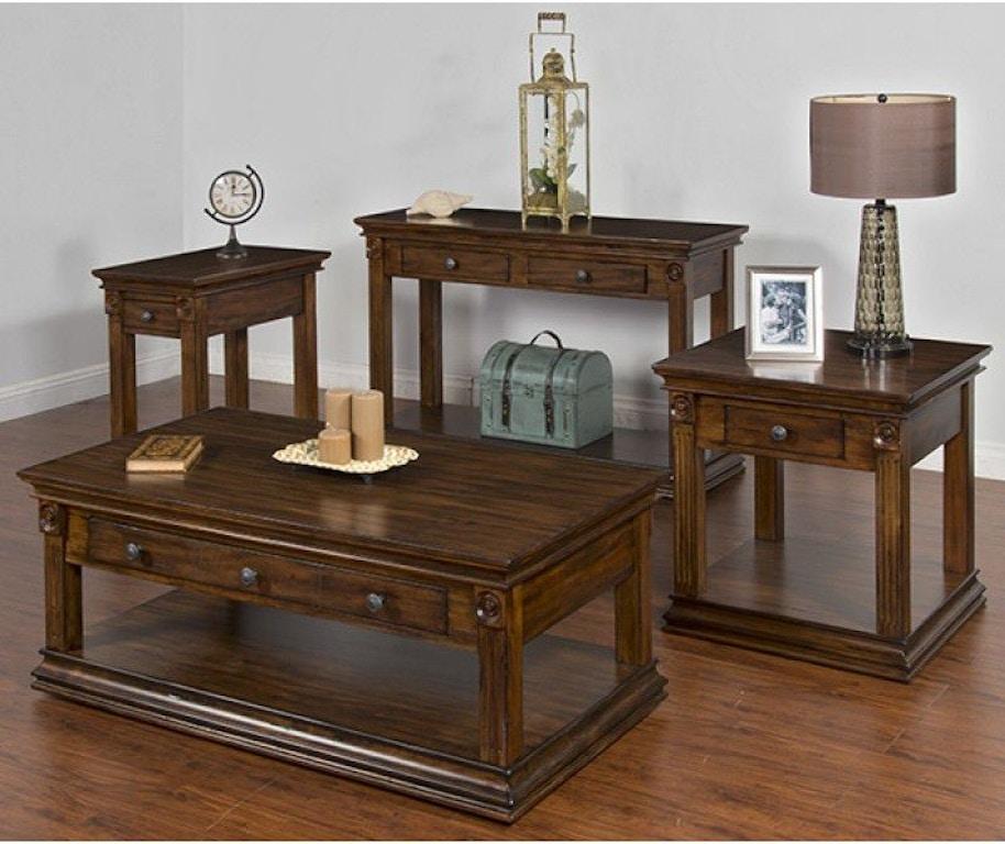 Sunny Designs Living Room Savannah Occasional Table Set 3243ac Seaside Furniture Toms River