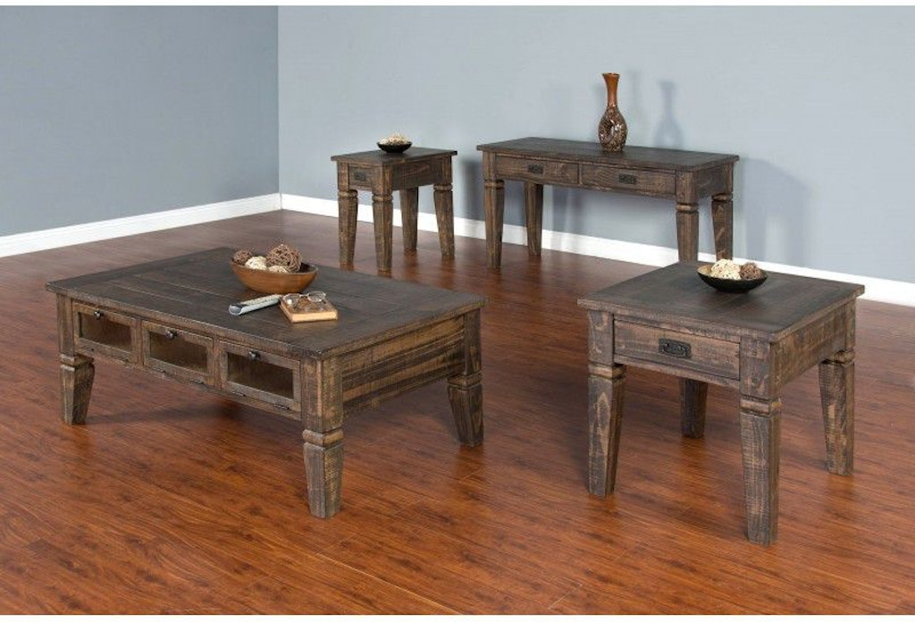 Sunny designs homestead occasional tables 3252tl for Homestead furniture oregon