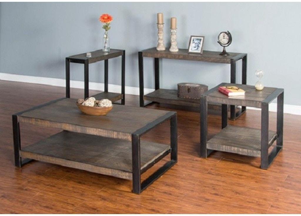 Sunny Designs Living Room Durham Chair Side Table 3253TL-CS ...
