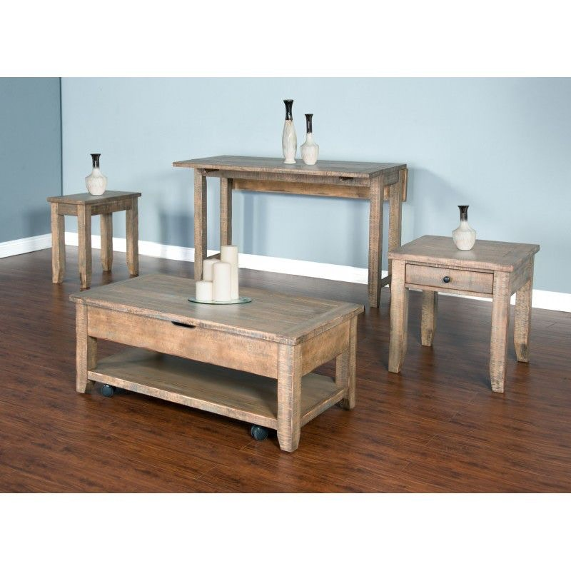 sunny designs driftwood coffee table 3268dwc