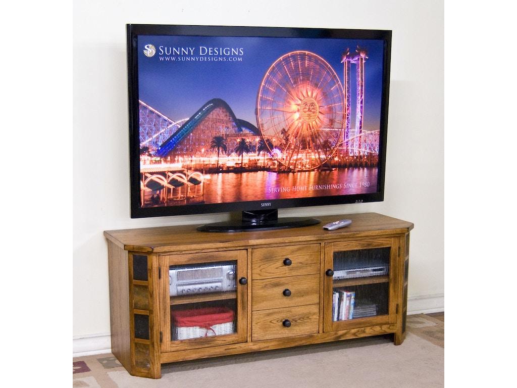 Sunny Designs Home Entertainment Sedona Tv Console 3395ro 62 Hatch Furniture Yankton South