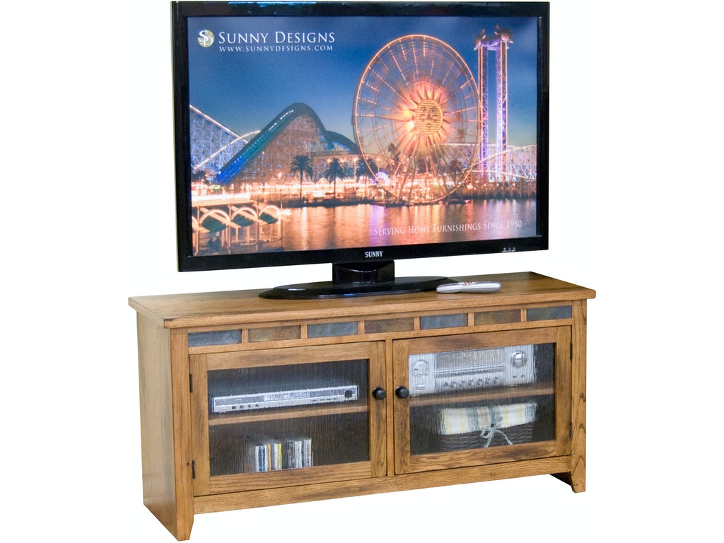 Sunny Designs Home Entertainment Sedona 52 W Tv Console 3398ro 52 Bennington Furniture