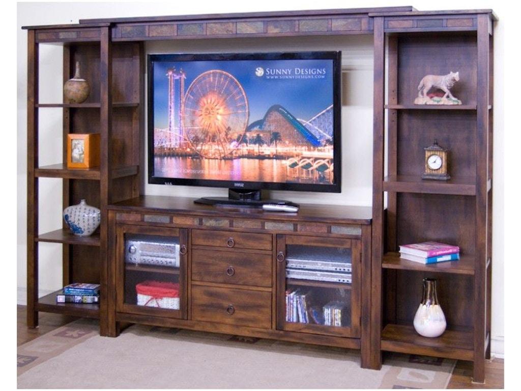 Sunny Designs Home Entertainment Bridge 3403dc B Hatch Furniture Yankton South Dakota