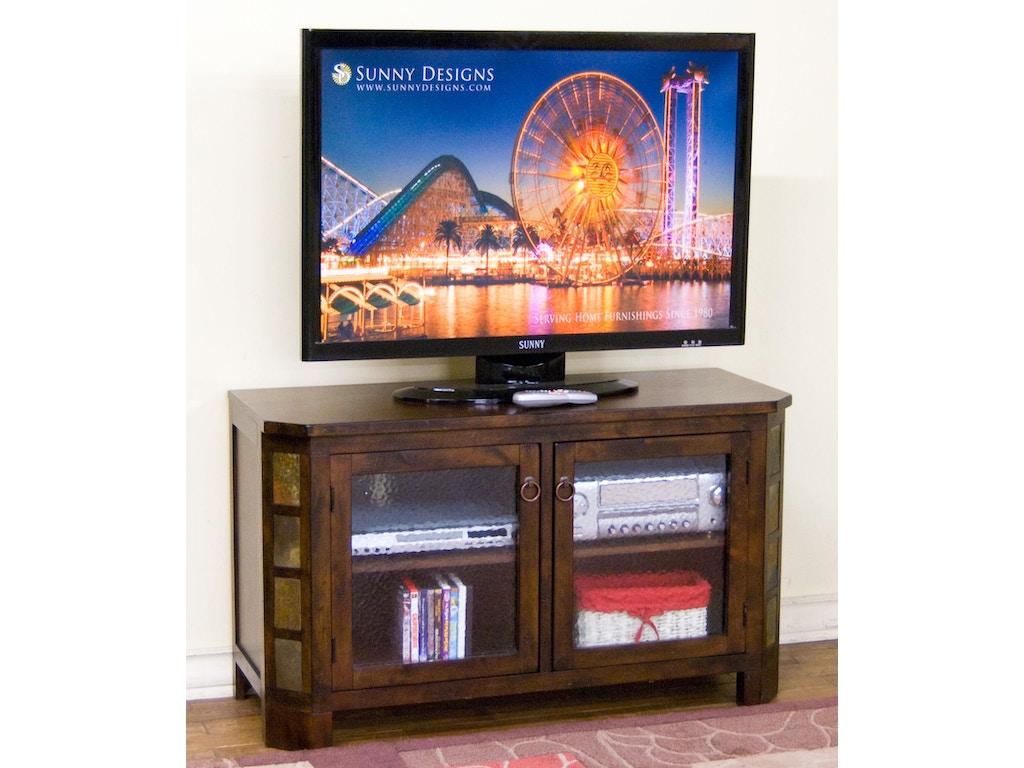 Sunny designs home entertainment santa fe 45 w tv console for Santa fe designs