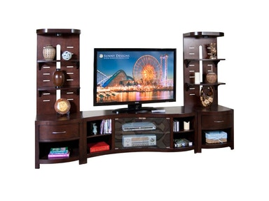 "Sunny Designs Espresso 60"" TV Console 3431E-TC"