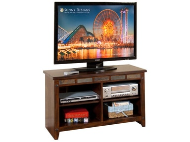 Sunny Designs Santa Fe 42 Inches TV Console, RTA 3436DC-42R