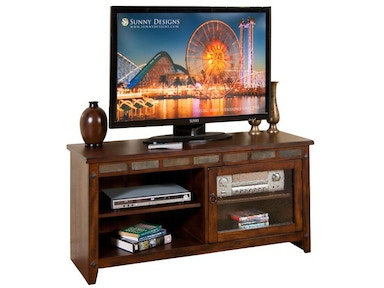 Sunny Designs Santa Fe 52 Inches TV Console, RTA 3436DC-52R
