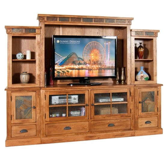 Delicieux Sunny Designs Entertainment Wall Sedona 406708P