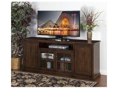 Sunny Designs Home Entertainment Santa Fe 78 W Tv Console