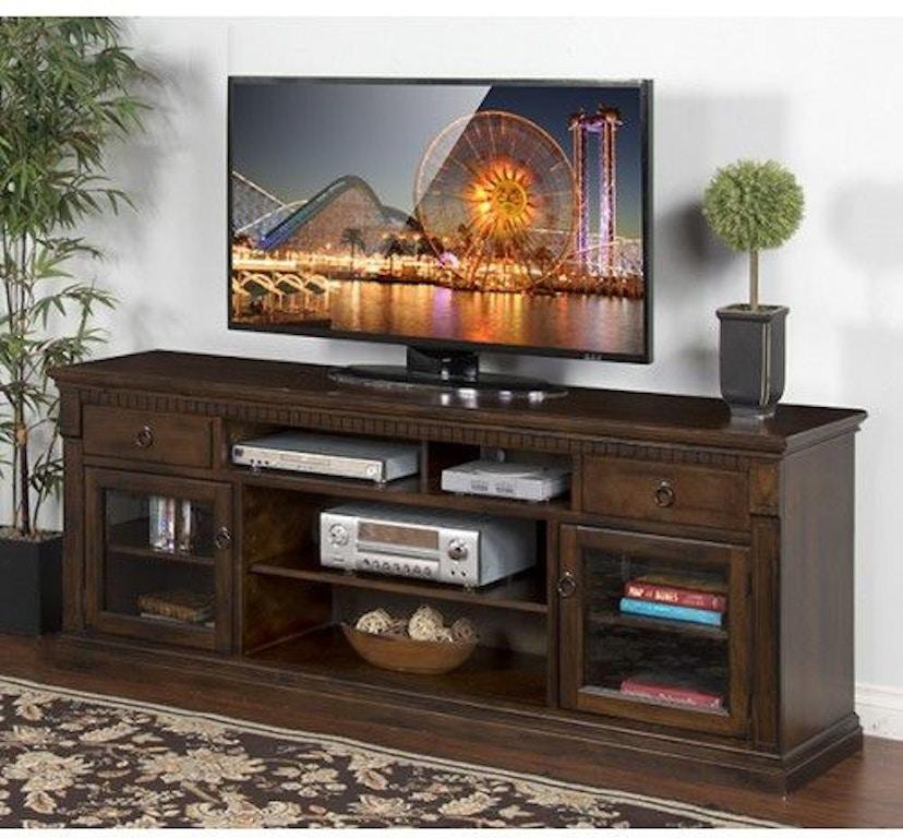 Sunny Designs Home Entertainment Windsor 78 Tv Console 3483dc 78 Seiferts Furniture Erie Pa