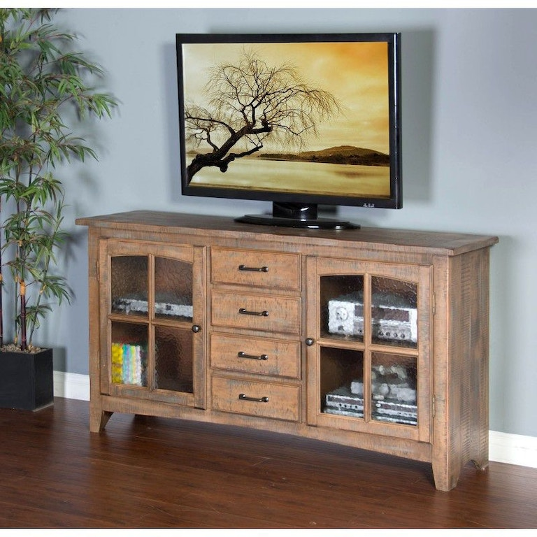 Sunny Designs Home Entertainment Driftwood Elements 64 Tv Console 3562dw 64 China Towne