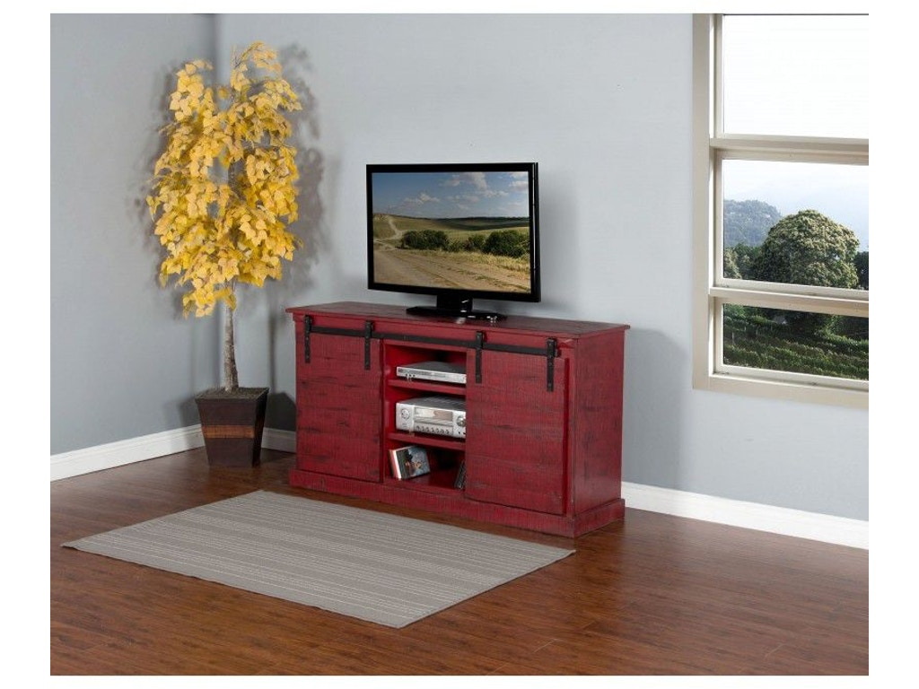 Sunny designs home entertainment new items burnt red barn door joe tahans furniture proudly offers this new items burnt red barn door tv console 3577br from sunny designs geotapseo Image collections