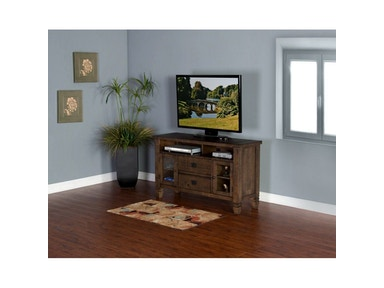 Tobacco Leaf 52 inches TV Console