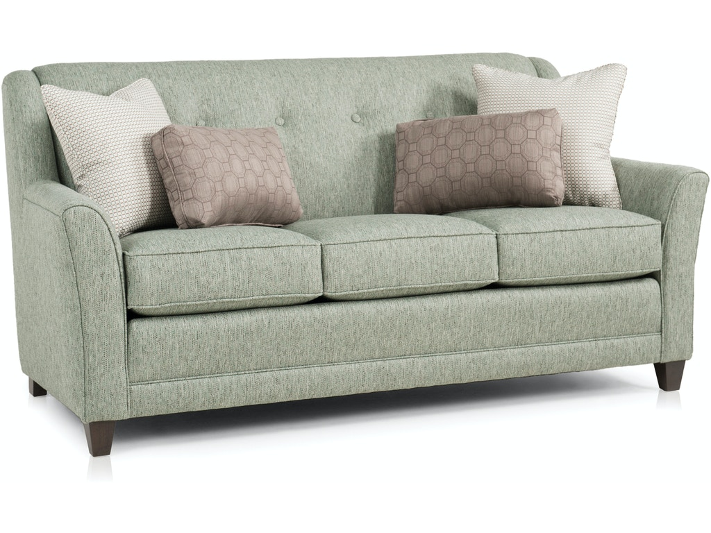 Smith Brothers Living Room Mid Size Sofa 236 11