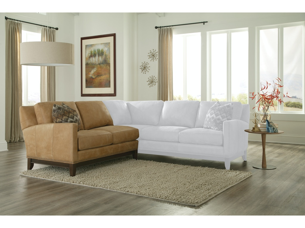 Smith Brothers Living Room 376 Sectional Whitley