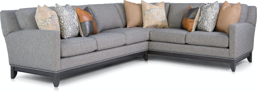 Smith Brothers Living Room 238 Sectional Bowen Town And
