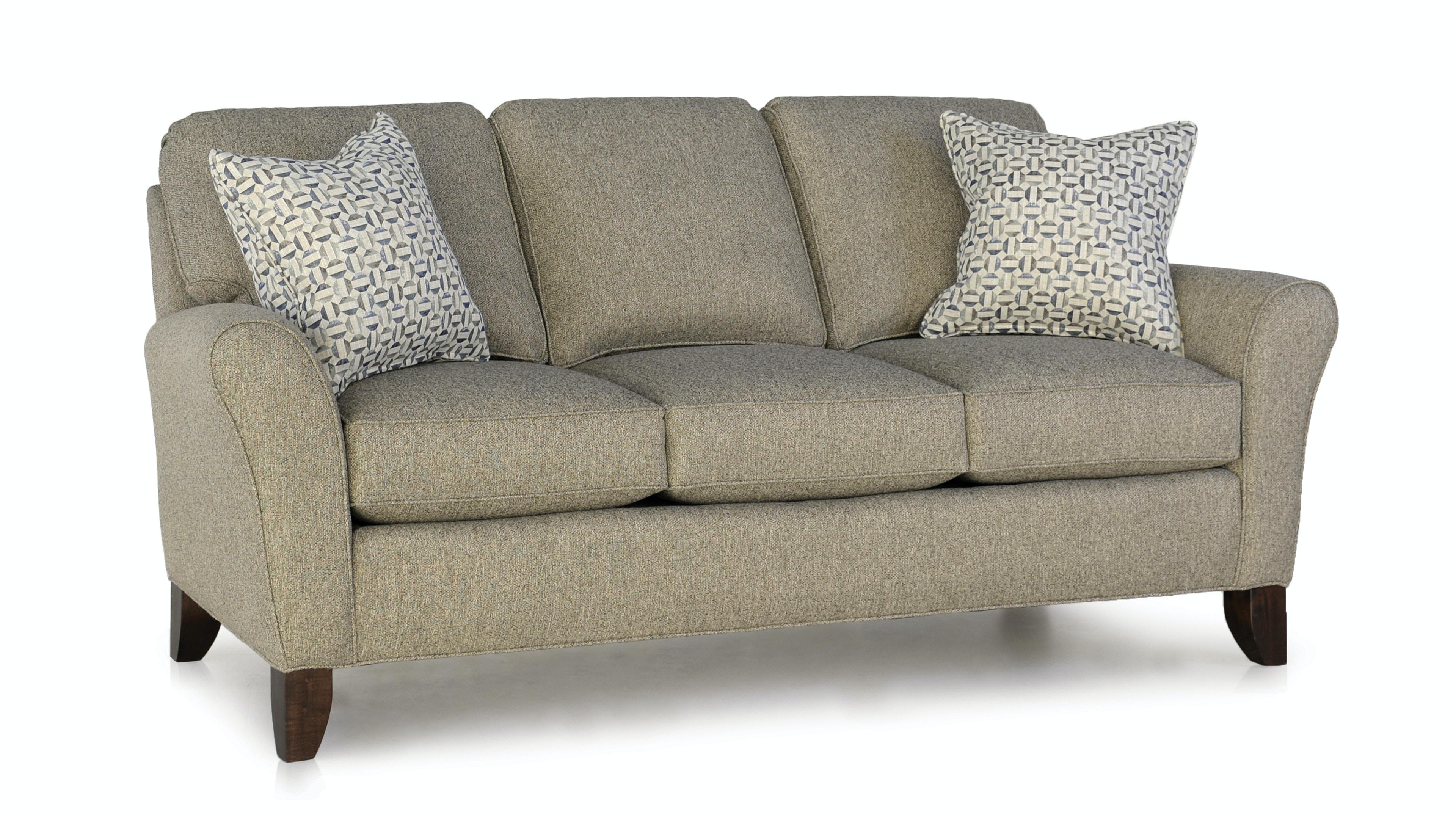 Smith Brothers Three Cushion Sofa 344 10