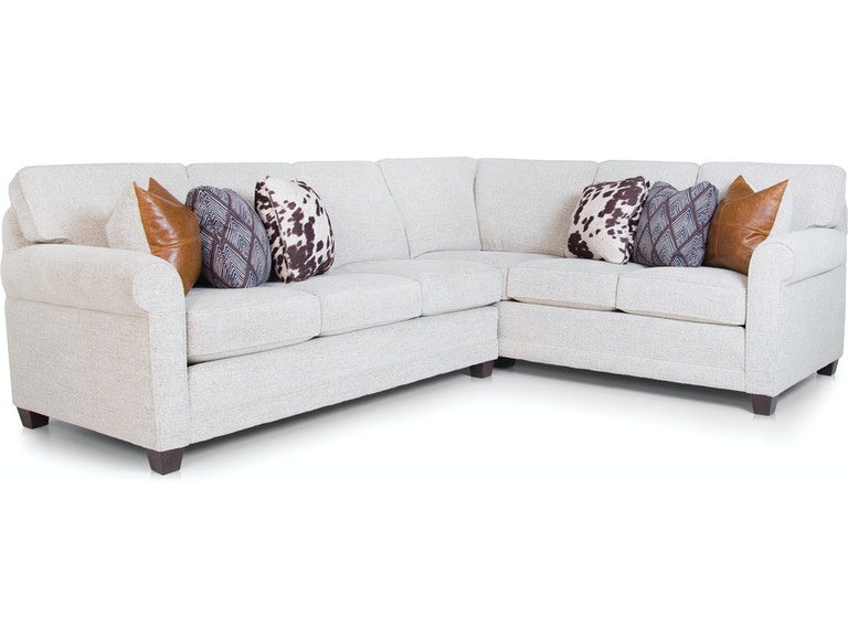 Surprising Smith Brothers Living Room 366 Sectional Skaff Furniture Andrewgaddart Wooden Chair Designs For Living Room Andrewgaddartcom