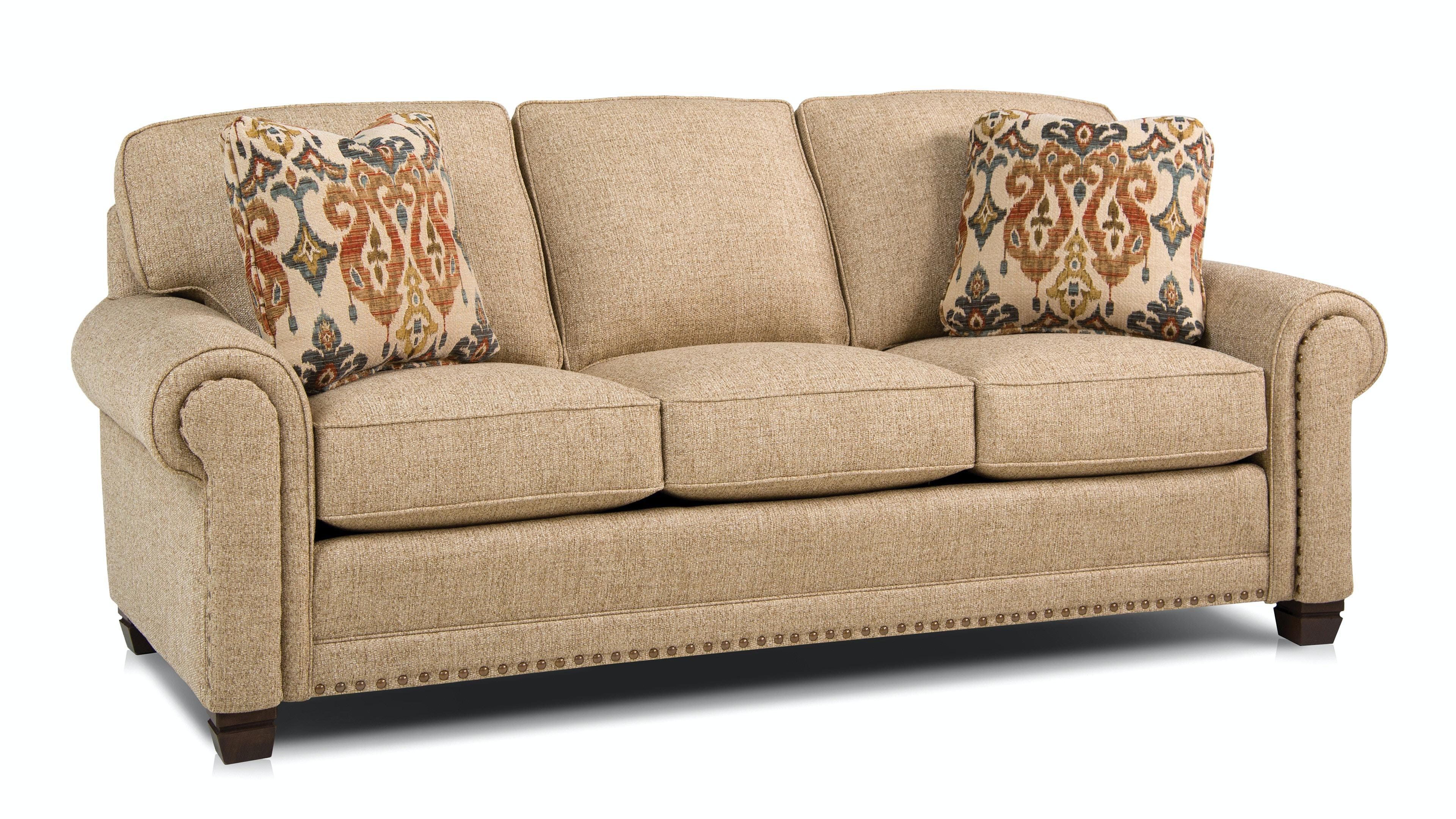 Smith Brothers Three Cushion Sofa 393 10