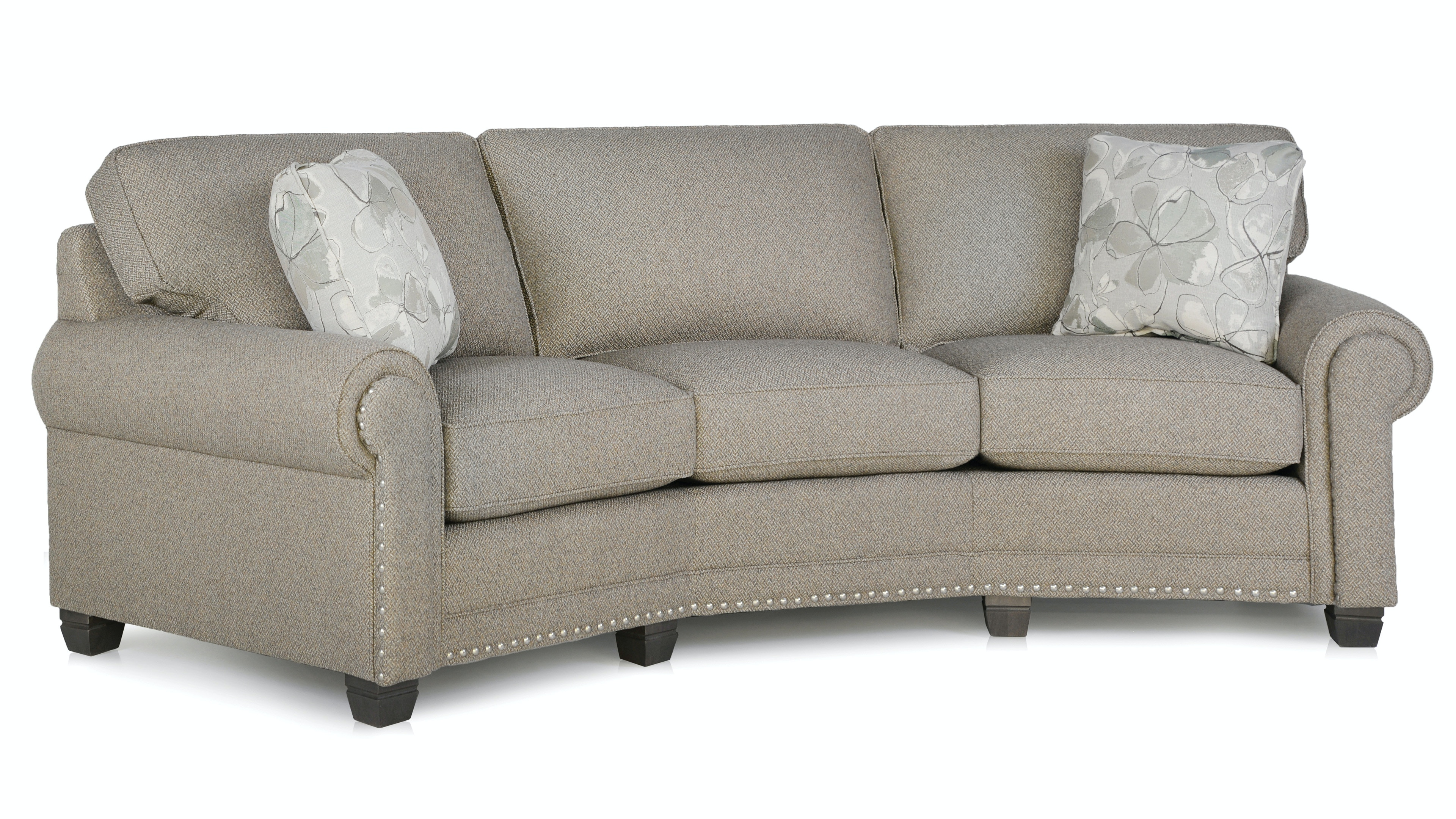 Smith Brothers Conversation Sofa 393 12