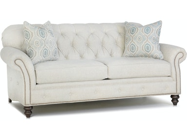 Smith Brothers Living Room Two Cushion Sofa