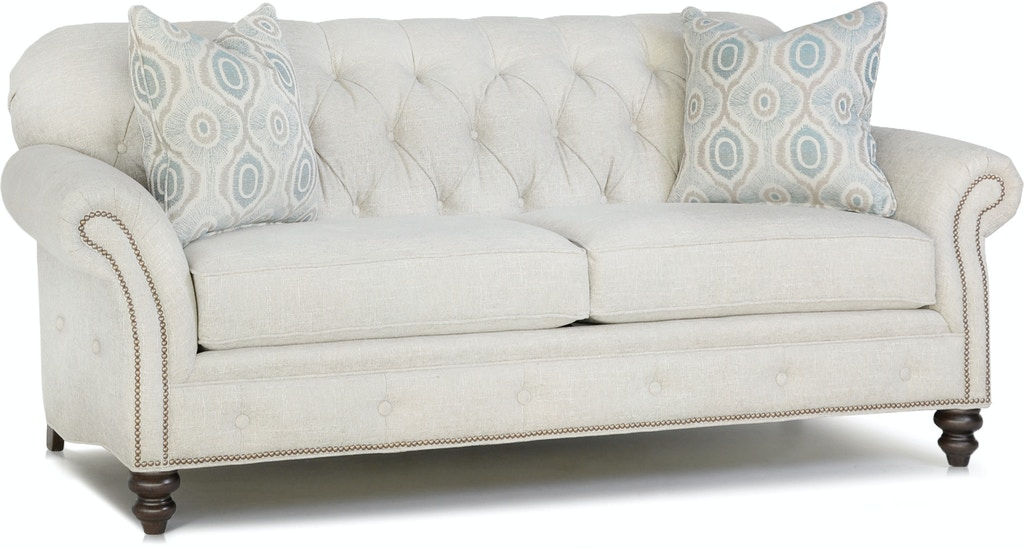 Smith Brothers Living Room Two Cushion Sofa 396 10