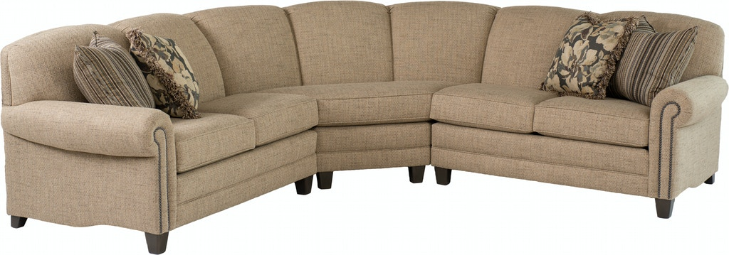 Smith Brothers Living Room 397 Sectional Bowen Town And