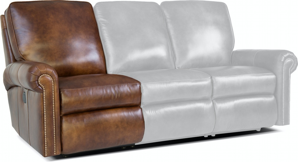 Manual Reclining Left Arm Facing Chair