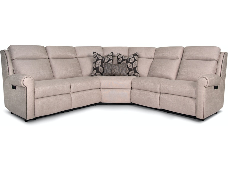 Smith Brothers Living Room 422 Sectional Indiana Furniture And
