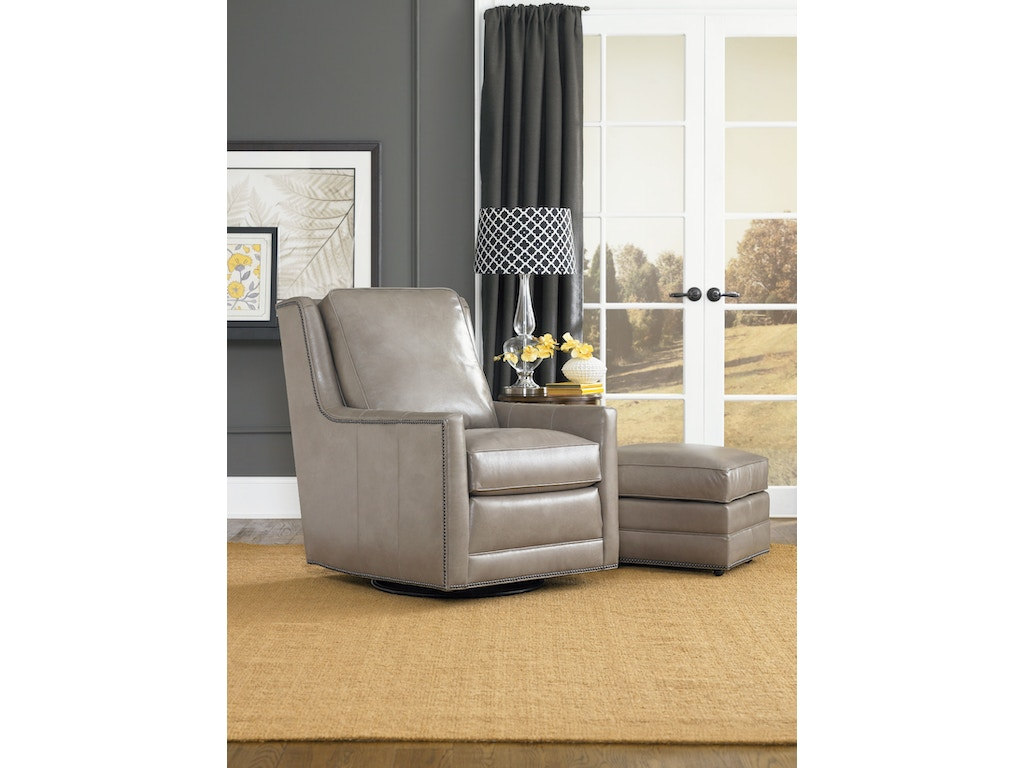 Smith brothers living room swivel chair 500 56 for Living room furniture jacksonville fl