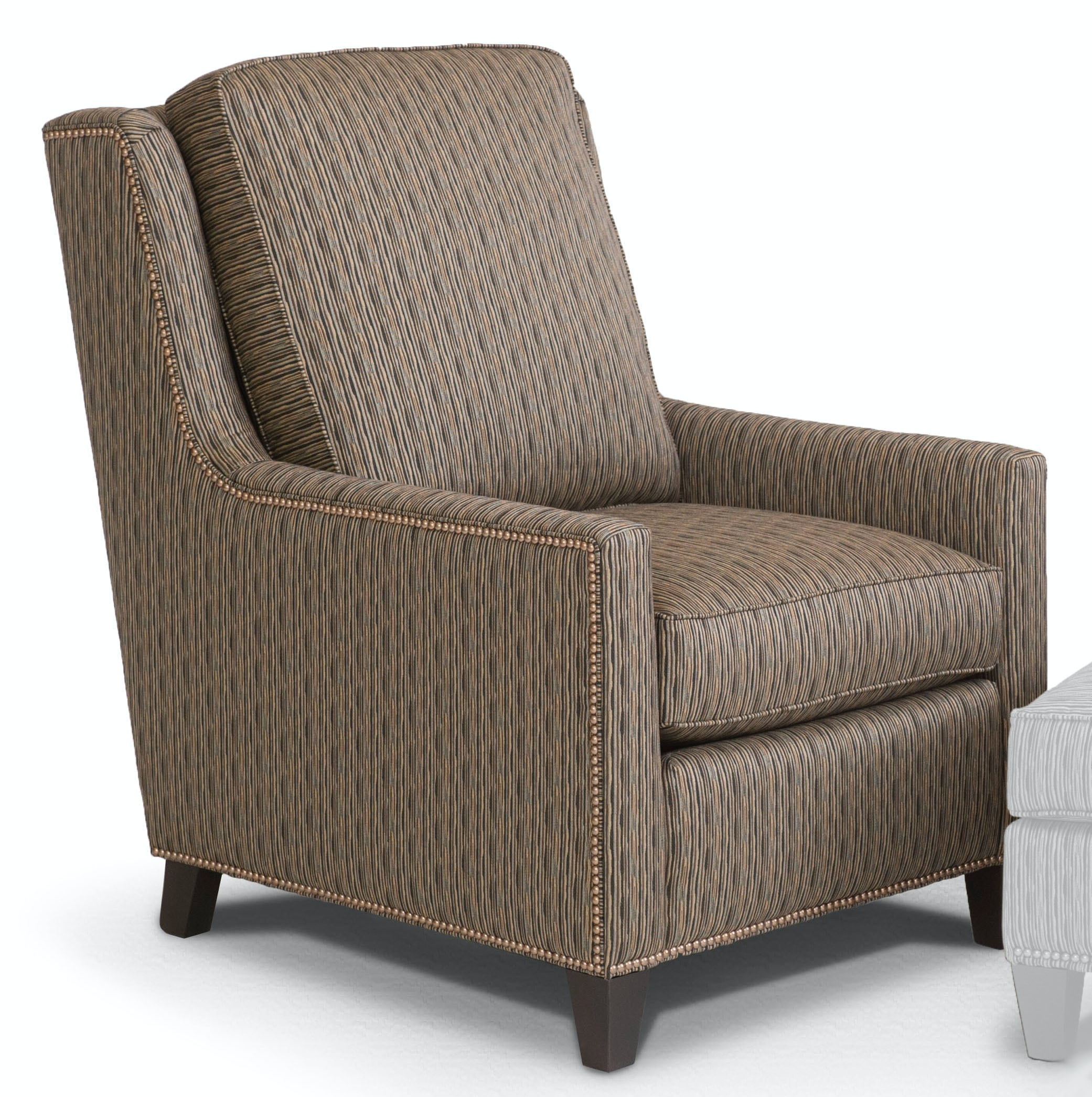 Smith Brothers Pressback Reclining Chair 501 33