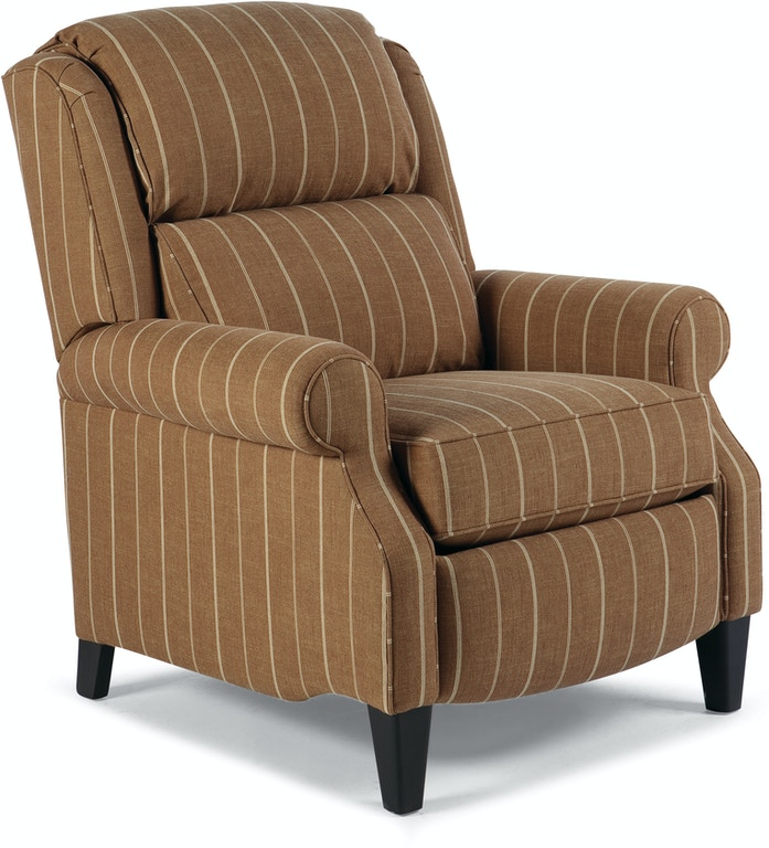 Smith brothers living room pressback reclining chair 503 Living room furniture raleigh nc