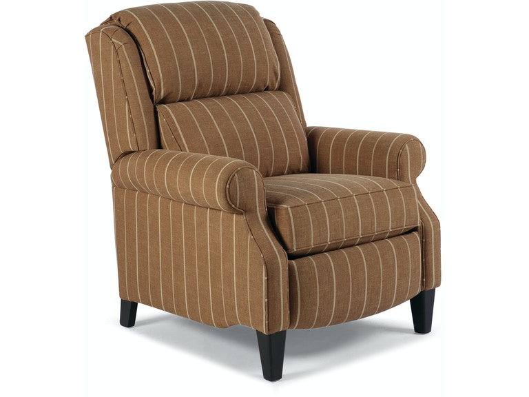 Smith Brothers Tall Pressback Reclining Chair 718301