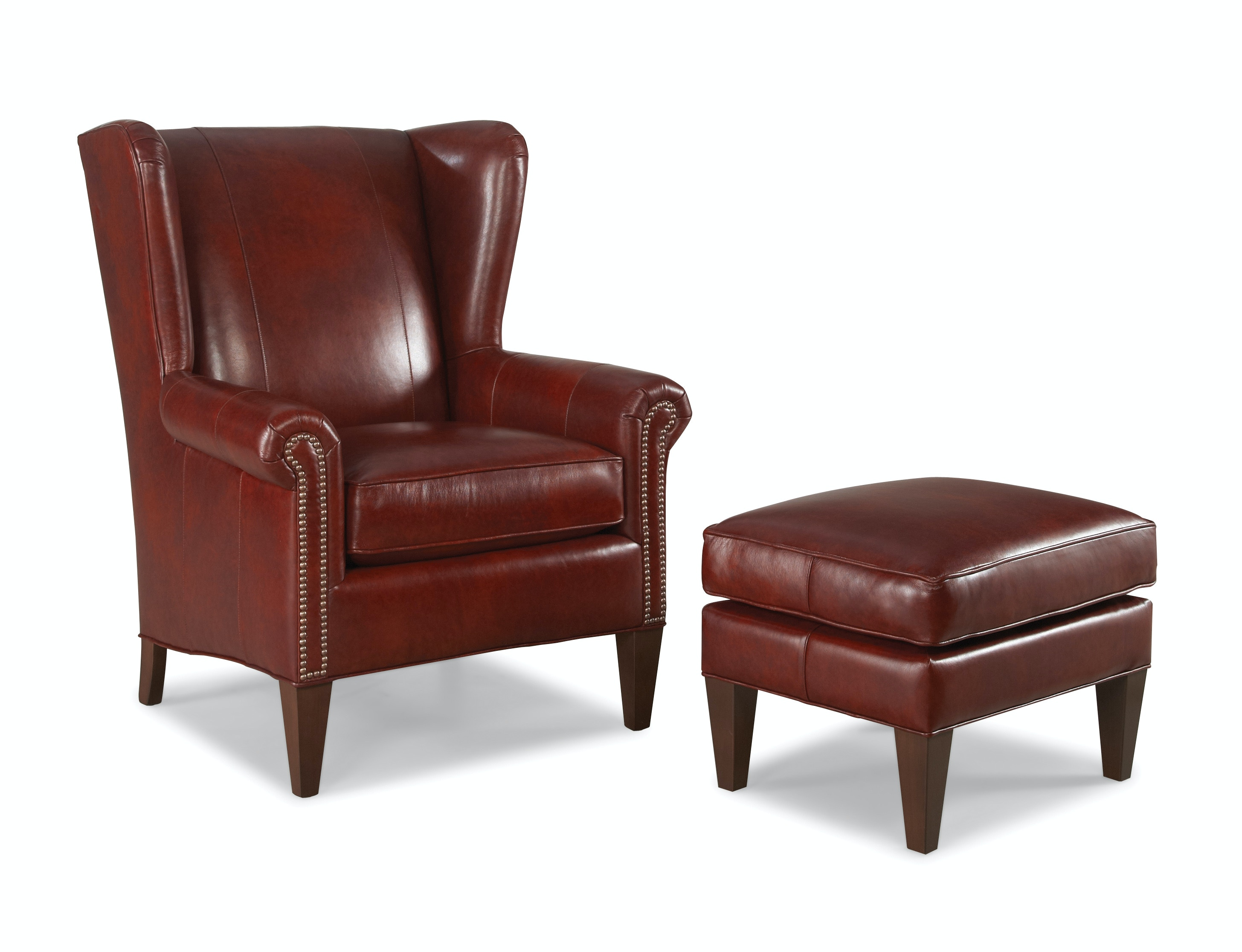 Charmant Smith Brothers Bailey Wing Chair 542829
