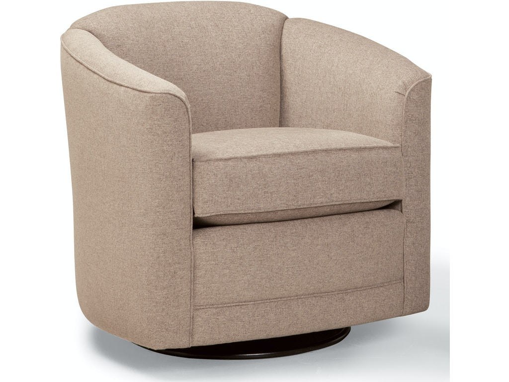 Smith brothers living room swivel glider chair 506 58 - Swivel chair living room furniture ...