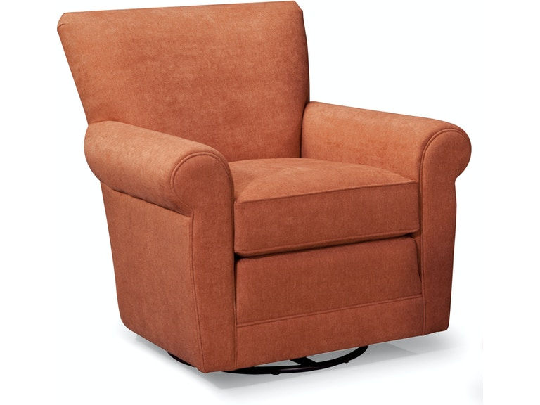 Smith Brothers Living Room Swivel Glider Chair At Skaff Furniture Carpet One Floor Home