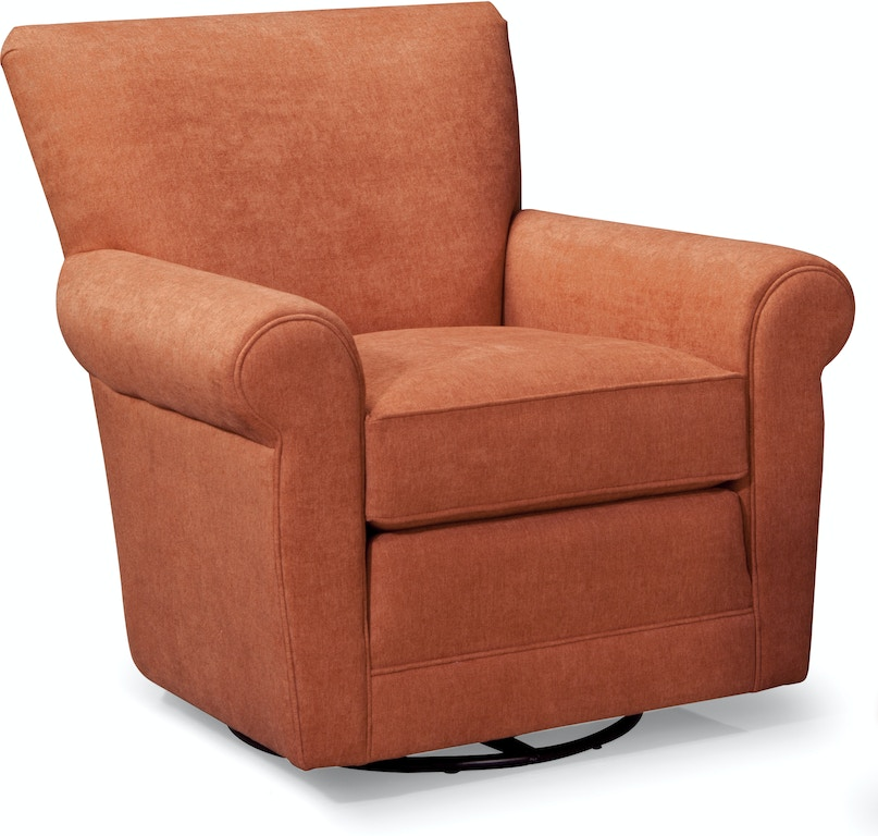 Smith Brothers Living Room Swivel Glider Chair 514 58