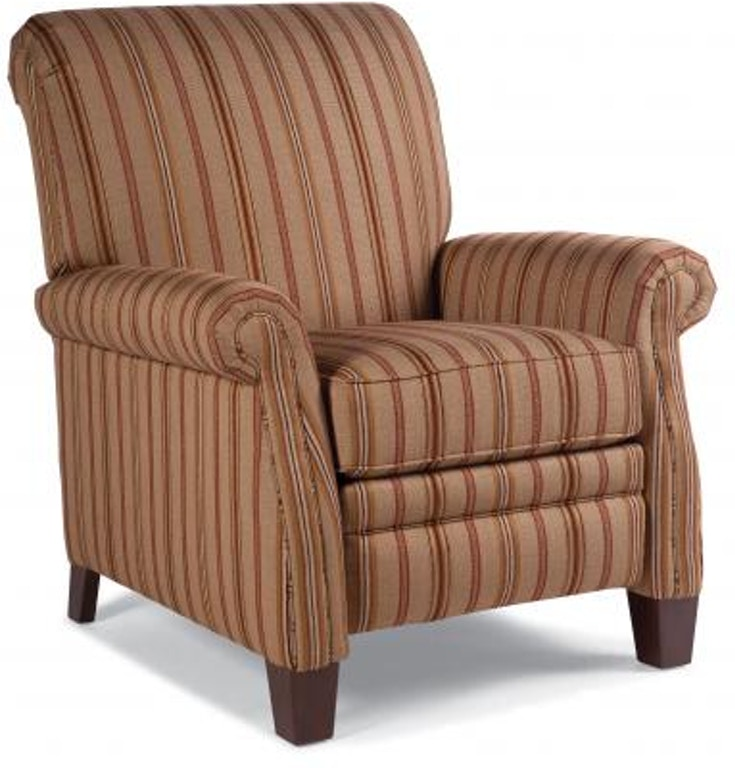 Smith Brothers Living Room Pressback Reclining Chair 704