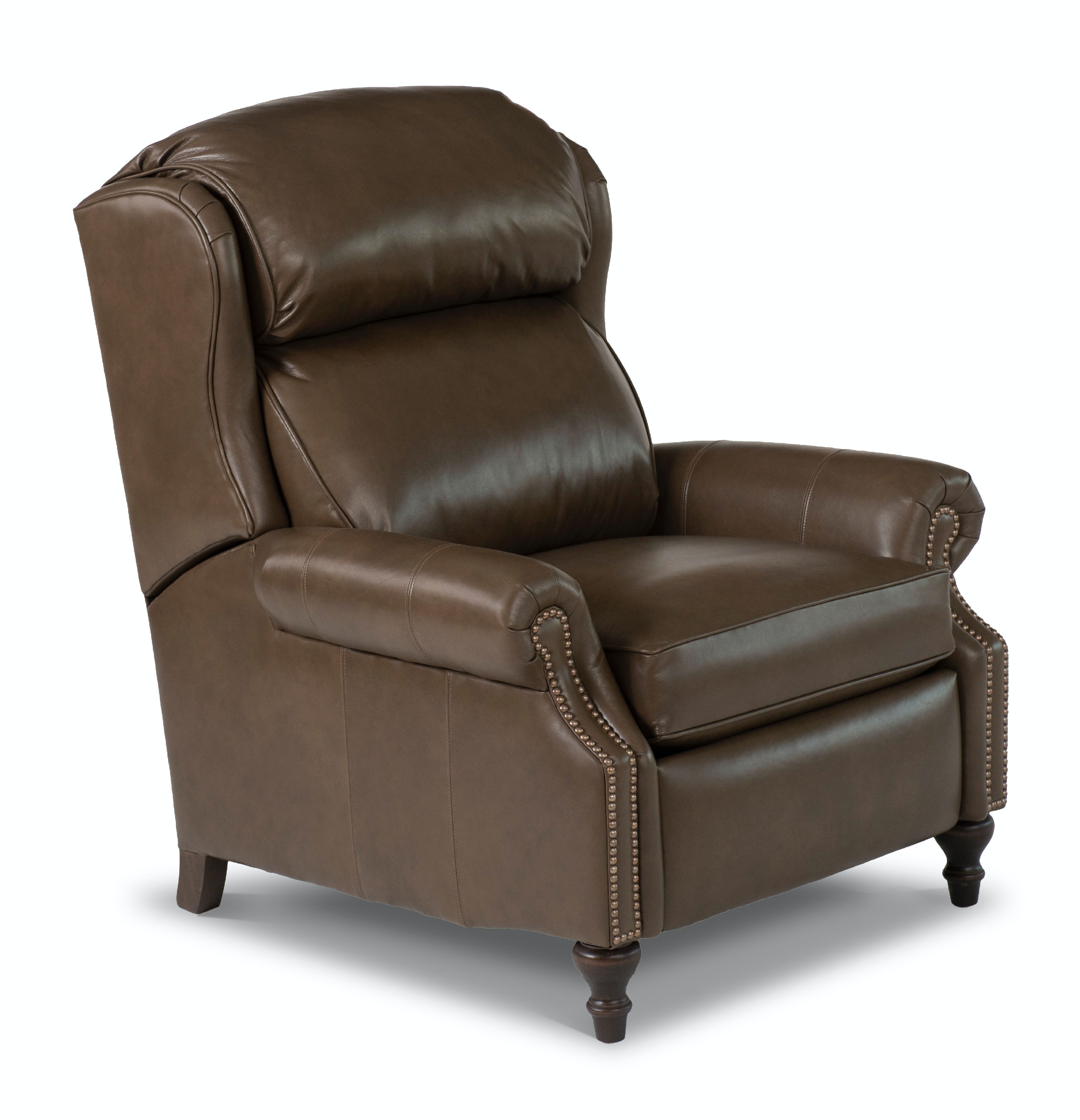 Smith Brothers Big/Tall Pressback Reclining Chair 732 76