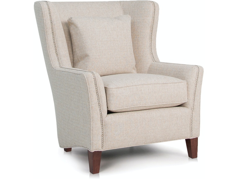 Smith Brothers Living Room Wing Chair 825-30 - Vermeulen Furniture ...